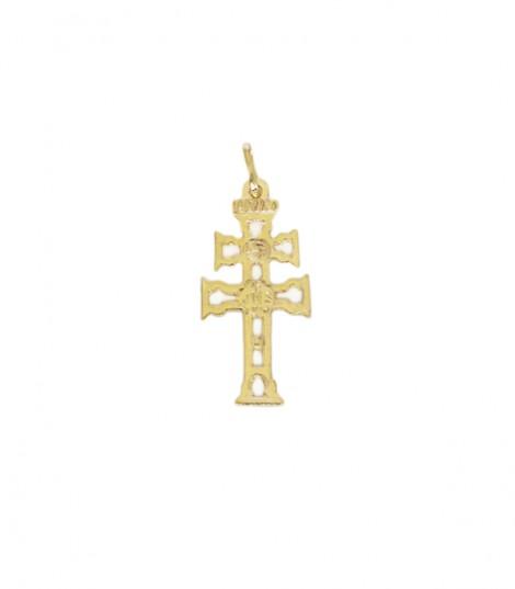 Cruz de Caravaca de Oro Calada