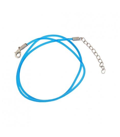 Cordón De Caucho Azul