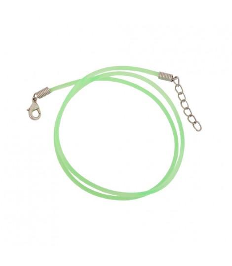 Cordón De Caucho Verde